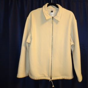 Jil Sander Wool Blend Jacket | Cream | Medium
